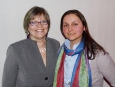 Petra Sorge dos Santos und Anita Shukla